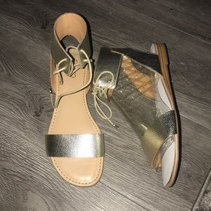 Franco Sarto Sandals have a Round Toe